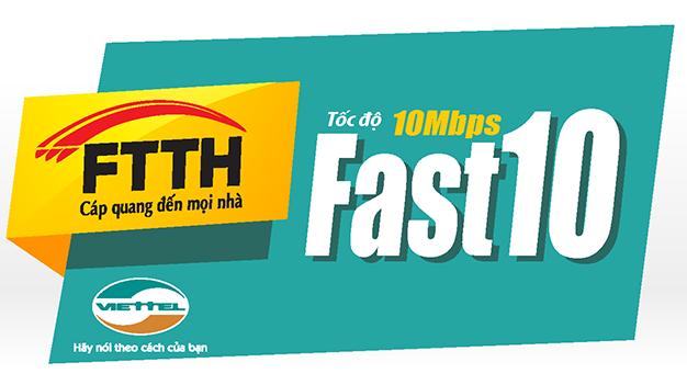 cap quang viettel - fast 10mb