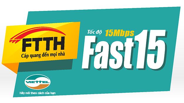 cap quang viettel - fast 15mb