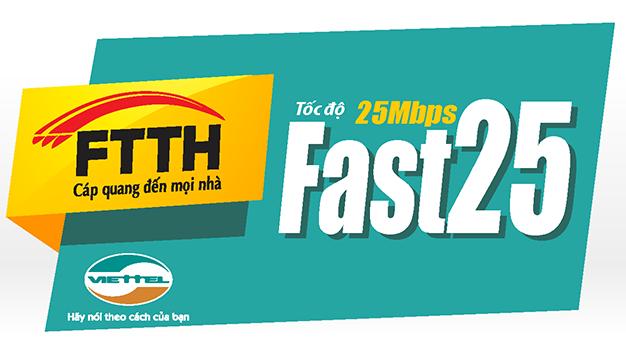 cap quang viettel - fast 25mb