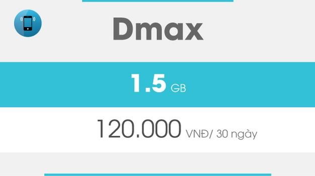 Gói 3G Dmax