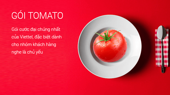 Gói cước Tomato Viettel