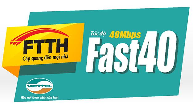 Lắp mạng Viettel gói 40Mb