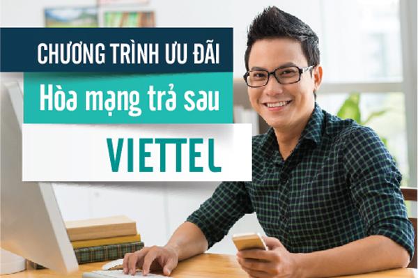 Chương trình ưu đãi hoà mạng trả sau Viettel tháng 2 - 2018