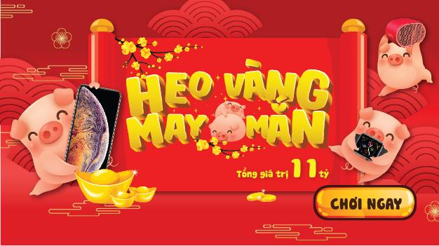 Mini game Viettel Heo vàng may mắn 2019 với giải thưởng cực khủng
