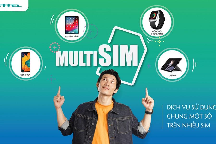 Dịch vụ 1 số nhiều SIM vừa được Viettel chính thức cung cấp ngày 01/03/2020