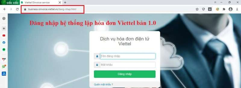 Dang Nhap Hoa Don Viettel Tren Côccoc